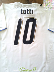 2006/07 Italy Away Football Shirt Totti #10 (XL)