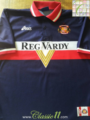 1999/2000 Sunderland Away Football Shirt (L)