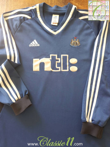 2001/02 Newcastle United Away Football Shirt (XL)
