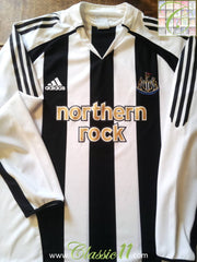 2005/06 Newcastle United Home Football Shirt (L)
