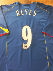 2004/05 Arsenal Away Premier League Shirt Reyes #9 (XL)