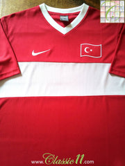 2008/09 Turkey Home Basic Football Shirt (L)
