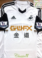 2013/14 Swansea City Home Premier League Football Shirt (S)