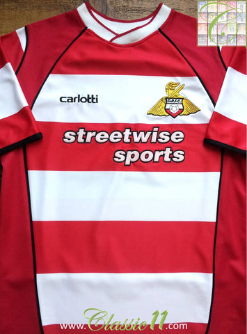 2003/04 Doncaster Rovers Home Football Shirt (S)
