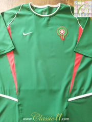 2002/03 Morocco Home Football Shirt (L)