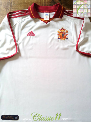 2000/01 Spain 3rd Kit Football Shirt (XL)