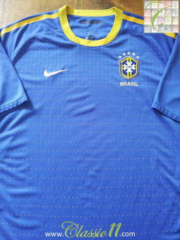 2010/11 Brazil Away Football Shirt (S)
