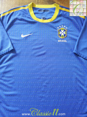 2010/11 Brazil Away Football Shirt (XL)
