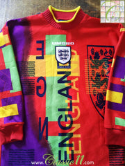 1995/96 England Goalkeeper Football Shirt (LB)