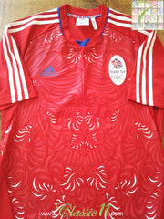2011 Great Britain Away Olympic Football Shirt (M)