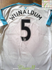 2015/16 Newcastle United Away Football Shirt Wijnaldum (L)