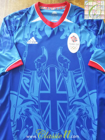 2011 Great Britain Home Olympic Football Shirt (M)