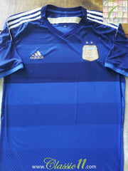 2013/14 Argentina Away Football Shirt (L)