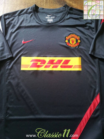 2011/12 Man Utd Football Training Shirt (XL)