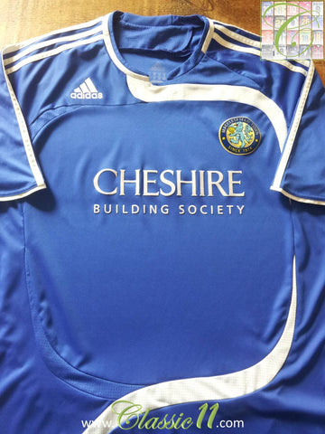 2008/09 Macclesfield Town Home Football Shirt (XL)