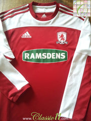 2011/12 Middlesbrough Home Football Shirt. (S)