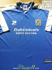 2001/02 Stockport County Home Football Shirt (L)