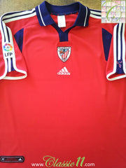 2000/01 Athletic Bilbao 3rd La Liga Football Shirt (XL)