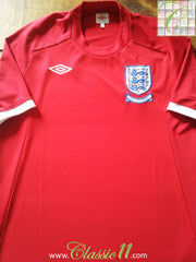 2010 England Away World Cup Football Shirt (XL)