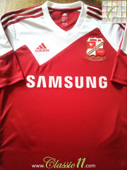 2013/14 Swindon Home Football Shirt (S)