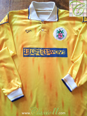 1991/92 Stenhousemuir Away Football Shirt (XL)