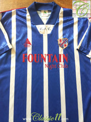1995/96 Cowdenbeath Home Football Shirt (L)