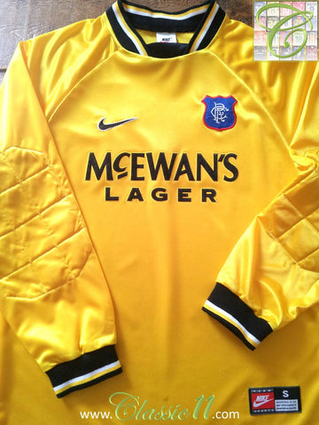 1997/98 Glasgow Rangers Goalkeeper Shirt (S)