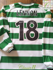 2001/02 Celtic Home SPL Football Shirt Lennon #18 (XL)