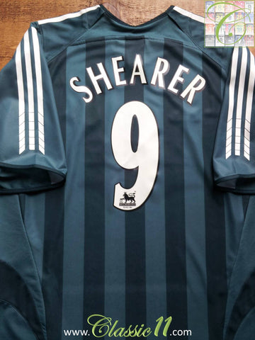 2005/06 Newcastle United Away Premier League Football Shirt Shearer #9 (L)