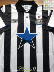 1993/94 Newcastle United Home Shirt (M)