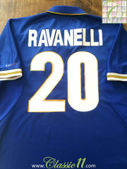 1996/97 Italy Home Football Shirt Ravenelli #20 (XL)
