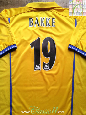 2000/01 Leeds United Away Premier League Shirt Bakke #19 (XL)