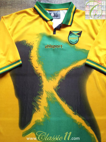 2001/02 Jamaica Home Football Shirt (XL)