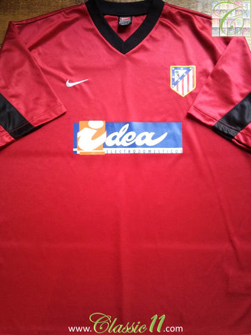 2001/02 Atlético Madrid Away Shirt (XL)