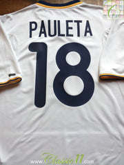 2000/01 Portugal Away Football Shirt Pauleta #18 (L)