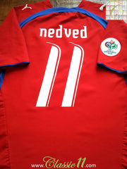 Nedved #11 Czech Republic 2006 World Cup Home Shirt (XL)