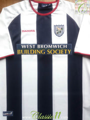 2003/04 West Bromwich Albion Home Shirt (L)
