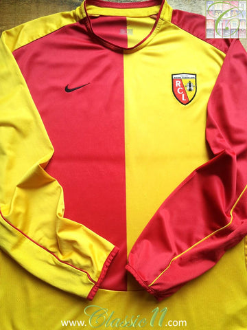 2003/04 RC Lens Home Shirt (L)