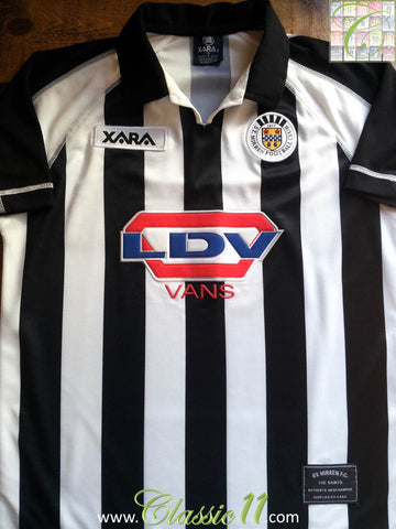 2000/01 St. Mirren Home Shirt (S)