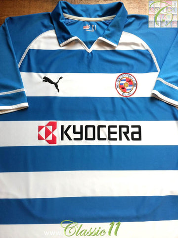 2005/06 Reading Home Football Shirt (XL)