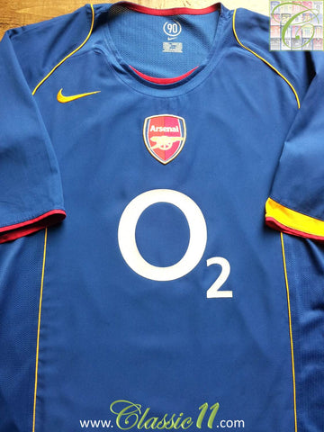 2004/05 Arsenal Away Shirt (L)