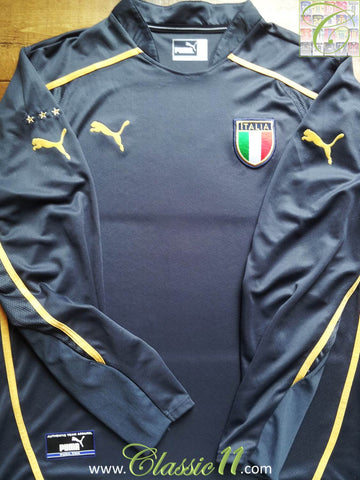 2003/04 Italy Home Goalkeeper Football Shirt (L)