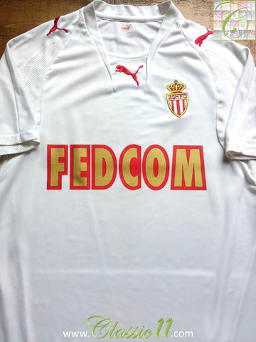 2007/08 AS Monaco Away Shirt (L)