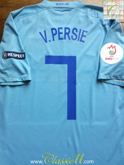2008/09 Netherlands Away European Championship Shirt V. Persie #7 (M)