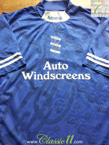 1995/96 Birmingham City Home Shirt (M)