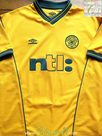 2000/2001 Celtic Away Football Shirt (XL)