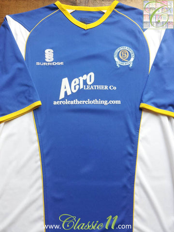 2007/08 Queen of the South Home Shirt (M)