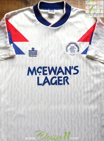 1990/91 Glasgow Rangers Away Shirt (M)