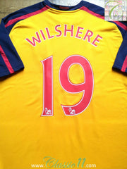 2009/10 Arsenal Premier League Away Shirt Wilshere #19 (XL)