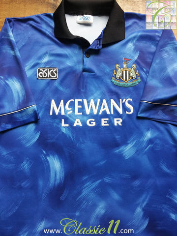 1993/94 Newcastle United Away Football Shirt (B)